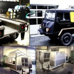 Reconstruction Pinzgauer, Red Bull